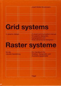 Grid Systems in Graphic Design/Josef Muller-Brockmann / 60,59€ / Importance 8/10