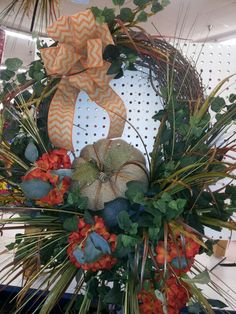 Grapevine wreath w/ hydrangea by kyong