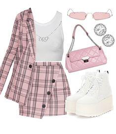 Clueless Fashion, Kpop Fashion Outfits, 2000s Fashion, Mode Outfits, Retro Outfits, Girly Outfits, Cute Casual Outfits, Look Fashion, Stylish Outfits