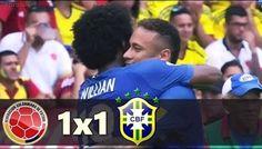 Colômbia 1 x 1 Brasil - Gols & Melhores Momentos (COMPLETO) Eliminatórias da Copa 2018
