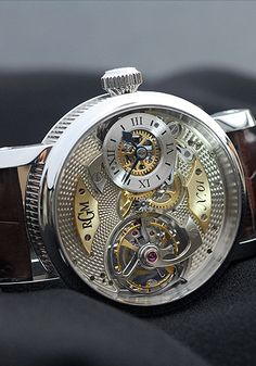 One of the most beautiful and amazing watches in the world and it's made right here in Lancaster County. www.rgmwatches.com