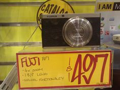 Donna, JB Hifi.  Fuji XF1 Digital camera, $497.00