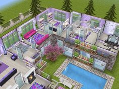 House 68 level 2 #sims #simsfreeplay #simshousedesign