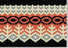 Tricksy Knitter Charts: grettir by genesishiles Knitting Charts, Knitting Socks, Tapestry Crochet, Knit Crochet, Cross Stitch Patterns, Knitting Patterns, Fair Isle Chart, Crochet Borders, Yarn Ball