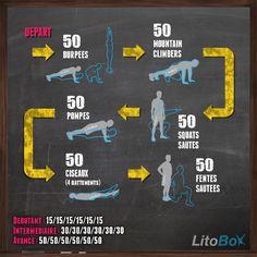Réveillez le spartiate qui sommeille en vous avec ce WOD de 300 reps au poids du corps et sans matériel ;) AOU AOU AOU !