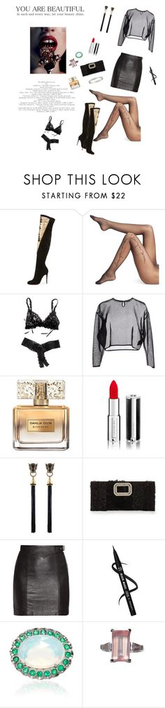 """""""Strong is Beautiful!!!"""" by kitty1126 ❤ liked on Polyvore featuring Christian Louboutin, Wolford, Hanky Panky, Yves Saint Laurent, Givenchy, Roger Vivier, Lauren K and Cartier"""