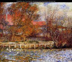 The Duck Pond - Pierre Auguste Renoir