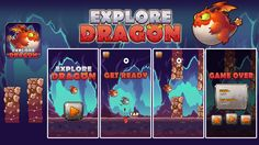 Explore dragon on Behance