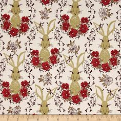Art Gallery Forest Floor In the Thicket Dawn from @fabricdotcom  Designed by Bonnie Christine for Art Gallery Fabrics, this cotton print is perfect for quilting, apparel and home decor accents. Art Gallery Fabric features 200 thread count of finely woven cotton. This whimsical nature inspired collection will take you on an adventure through the woods. Colors include pink, plum, coral, gold, light blue, mint and ivory.
