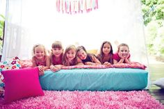 cutest ideas for sleepover party! Saving for my future daughter