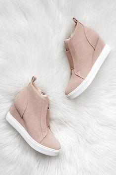 fedf19af1 Aliya Shoes · Moore For Me Sneaker Wedge
