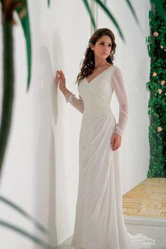 Cheap long sleeve wedding dresses uk seller
