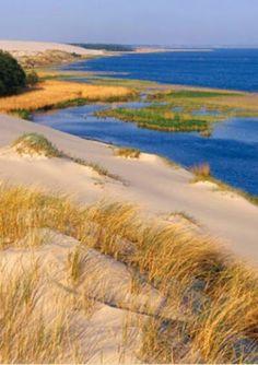 Leba, Baltic Sea, Poland