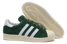 sale retailer 9789b 698ac Adidas Superstar Originals Adidas Suede Women Green Fashion Styles, 50  Fashion, Adidas Basketball Shoes