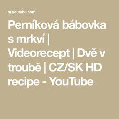 Perníková bábovka s mrkví | Videorecept | Dvě v troubě | CZ/SK HD recipe - YouTube Youtube, Songs, Make It Yourself, Blackberries, Blackberry, Song Books, Youtubers, Youtube Movies