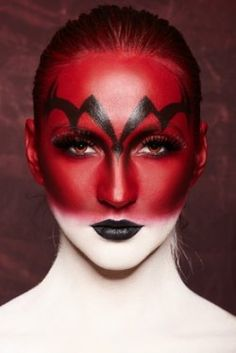Fun And Scary Halloween Makeup Ideas And Tips Are Perfect For Women's Devil Costumes - Take A Look!