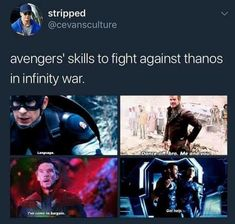 I think the last one will be the best against Thanos! XD ~Ash