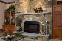 Woodland - Fireplace - Commercial | Natual Stone Veneers Inc.