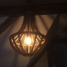 Cage light shades in my Shropshire Farmhouse.