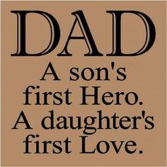 So true, miss you dad!
