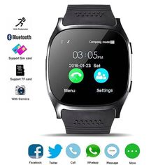 7874210276d544 2018 Bluetooth Sports Smart Watch Touch Screen Sport Smartwatch for All  Android Phones Samsung Huawei Motorola
