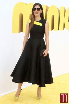"Sandra Bullock in Roksanda at the ""Minions"" Los Angeles Premiere"