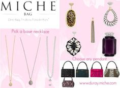 MICHE JEWELRY Found the perfect Shell? Complete your look with sparkling Miche Jewelry.