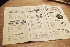 よなよなビアキッチン Japanese Coffee Shop, Japanese Menu, Restaurant Identity, Restaurant Menu Design, Restaurant Restaurant, Diner Menu, Bar Menu, Food Graphic Design, Food Design