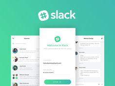 """다음 @Behance 프로젝트 확인: """"Slack - A Visual Update"""" https://www.behance.net/gallery/40748543/Slack-A-Visual-Update"""
