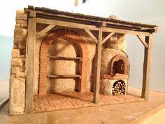 Desert Art, Miniature Houses, Decoration, Woodworking, Outdoor Structures, Architecture, Creative, Nativity Scenes, Crib