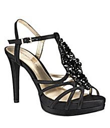 Antonio Melani Pippa Sandals. I have these. Most comfortable heels I have ever owned.