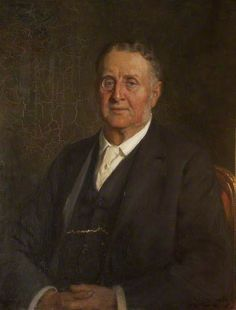 """""""Sir William Hornby (1841–1928), MP"""", 1918, by George Percy Jacomb-Hood (British, 1857-1929)."""