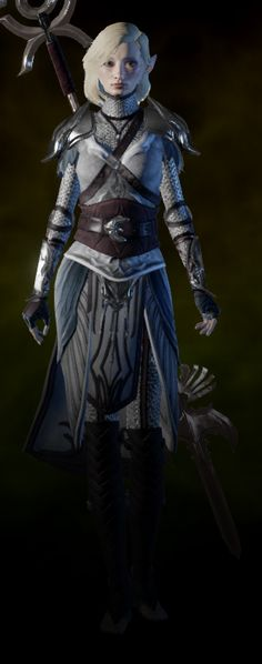 dalish keeper armor front view