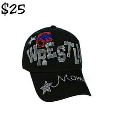 #Preorder new mom hat. In comment section leave email address for order. #wrestle #mom  #sports #glamher #glamherous #bling #fabulous #instagram #instagood #shoponline #shop #buy #sell #fashionaccessories #hats