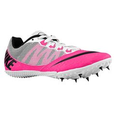 3bf0d562943634 Nike Zoom Rival S Track Spikes Shoes Womens Size 7 Pink Black White - to  start coupon nike