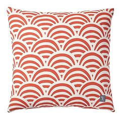 Poppy Soleil Print Outdoor Pillow by Serena & Lily on HomePortfolio
