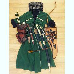 My Circassian equipments.