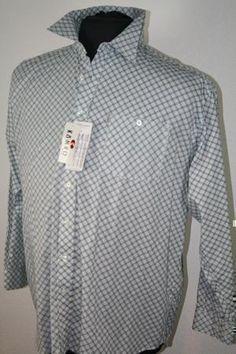 ** Kamro Hemd 02925-260 5XL weiß-blau-schwarz
