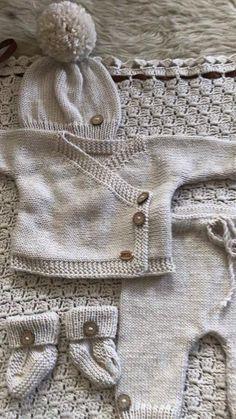 Baby Knitting Patterns Free Newborn, Free Baby Blanket Patterns, Baby Hats Knitting, Baby Blanket Crochet, Baby Patterns, Crochet Baby, Newborn Coming Home Outfit, Newborn Outfit, Baby First Outfit