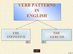 To infinitive and -ing form after some verbs