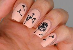 NAILS | Dandelion Nail Art for Ane Li