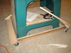 First Diy Mobile Base Band Saw Woodworking Talk Woodworkers Forum