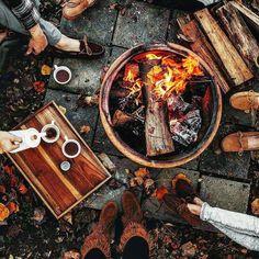 Our backwoods camp life. Rise. Caffeinate. Go boldly. Be great.  . Courtesy: Tiffany @tifforelie   Roam the Planet @roamtheplanet   Our Camp Life @ourcamplife . . . Blog: http://ift.tt/1vCV6pv  #manvswild #likeaboss #riseandshine #morning #sunrise #breakfast #caffeine #coffee #java #joe #espresso #latte #latteart #travel #instatravel #travelgram #vacation #roadtrip #explore #adventure #wild #kcco #camping #outdoors #weekend #coffeemakeseverythingbetter
