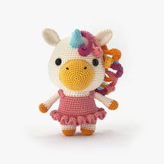 Bella The Unicorn Amigurumi Pattern