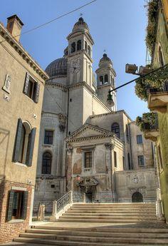 Basilica di Santa Maria della Salute in Venice, Italy | Flickr: Intercambio de fotos