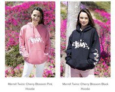 Famous Twins, Merrell Twins, Hoodies, Sweatshirts, Black Hoodie, Adidas Jacket, Graphic Sweatshirt, Athletic, Sweaters