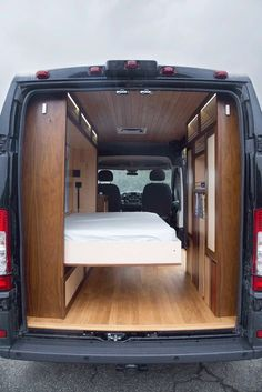 30 Amazing Image of Minivan Camper Conversions To Inspire Your Build & Adventure. After you have decided which motorhome or caravan you wish to utilize for your holidays, it's ideal to request a reservation. Though the motorhome isn. Cargo Van Conversion, Van Conversion Interior, Sprinter Van Conversion, Camper Van Conversion Diy, Van Conversion Murphy Bed, Diy Van Camper, Tiny Camper, Camper Caravan, Kombi Trailer