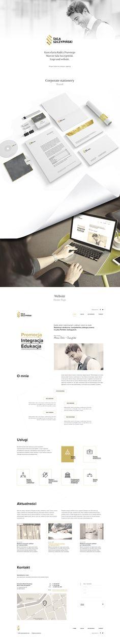 i prepare proposal website and formal identity for a Kancelaria Radcy Prawnego Marcin Sala Szczypinski.