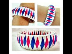 How to make Designer Silk Thread Bangle/Kada at Home || Model for sale at www.beautyinustores.com || - YouTube