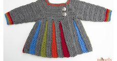 Crochet Baby Sweater + Video Tutorial